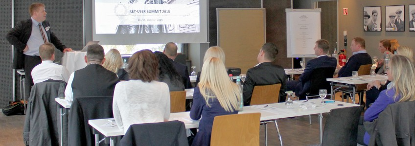 Publikum Key user Summit 2015 in Weimar